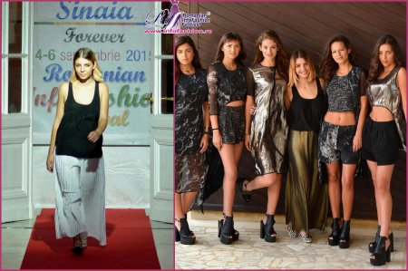 Platinum Ag2015 Designer Cezara Muresan la Romanian InfoFashion Festival -Spirit of Beauty® Colectia Cover and Discover