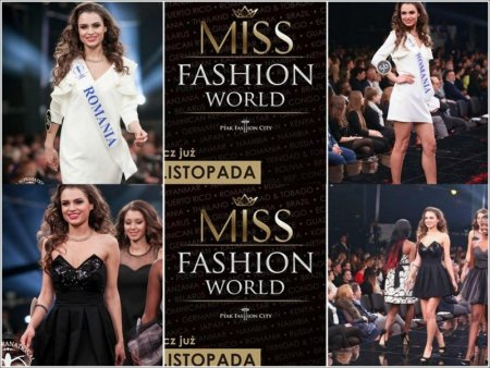 Miss_Supranational 2014 Top20 Elena Zama, from Romanian InfoFashion Festival to Ptak Fashion Show, Poland