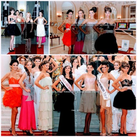 B_&_Andreea_Buzdugan la Finala Miss World Romania 2011 Platinum Ag Infofashion Designeri