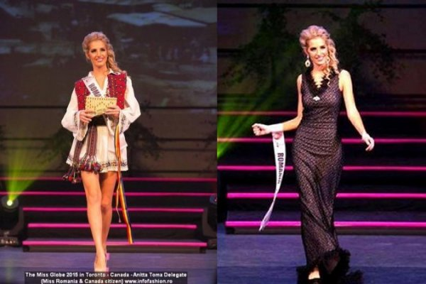 The_Miss Globe 2015 Anitta Toma (Romania & Canada citizen) in the Final in Toronto, Canada