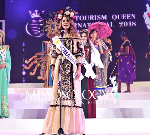 Sinziana Sirghi (Galati, Romania) 3rd Runner up to Miss Tourism Queen International in Bangkok, Thailand 2018