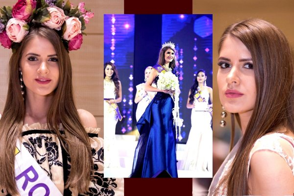 Sinziana_Sirghi (Galati, Romania) 3rd Runner up on Miss Tourism Queen International in Bangkok, Thailand 2018