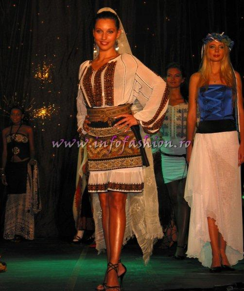 2006-Bucharest-Alexandra Chiroiu at Model of the World in Tanzania