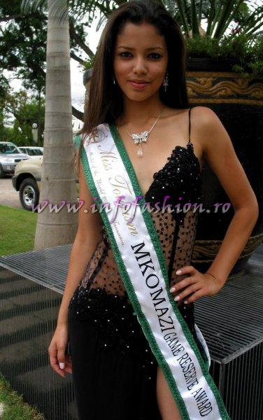 KATHERIN YOHANA BRUGES ROMERO, Colombia at Model of the World 2006 in Tanzania