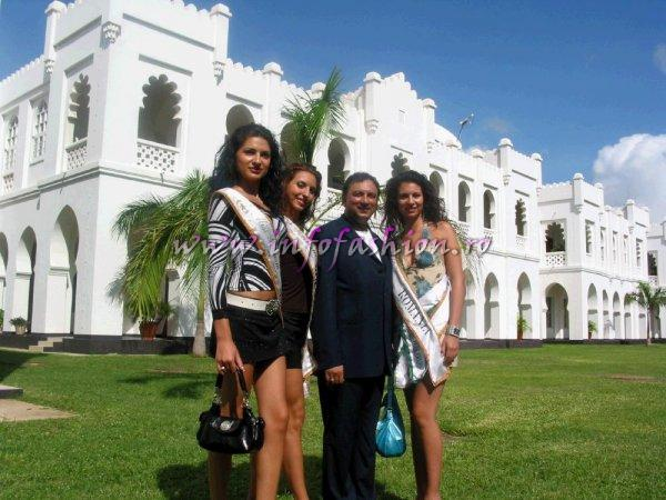 All the Miss Tourism Model of the World Contestants meeting the President