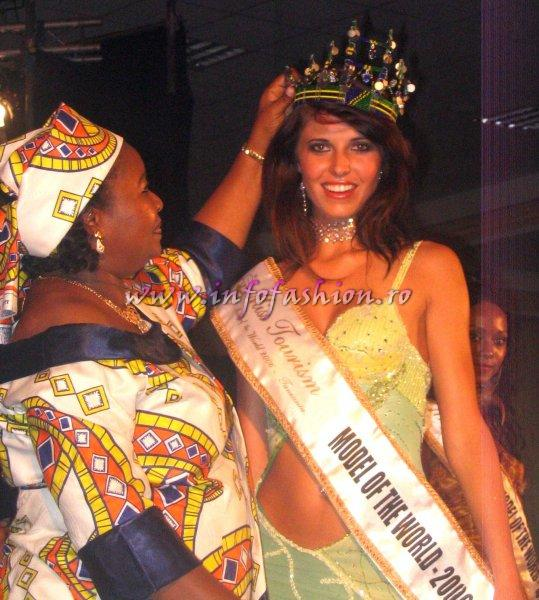 The New Miss Tourism Model of the World 2006 is HANRI VAN SCHALKWK-South Africa