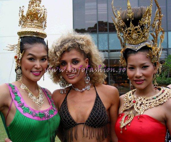 Group Photos, Thailand- JIRAPORN SAENPRASERT at Model of the World 2006 in Tanzania