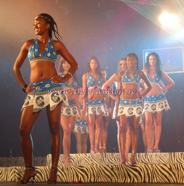 C_&_ Designeri Costume baie, Bikini Swimsuit Spectacular Final Show at Model of the World in Tanzania