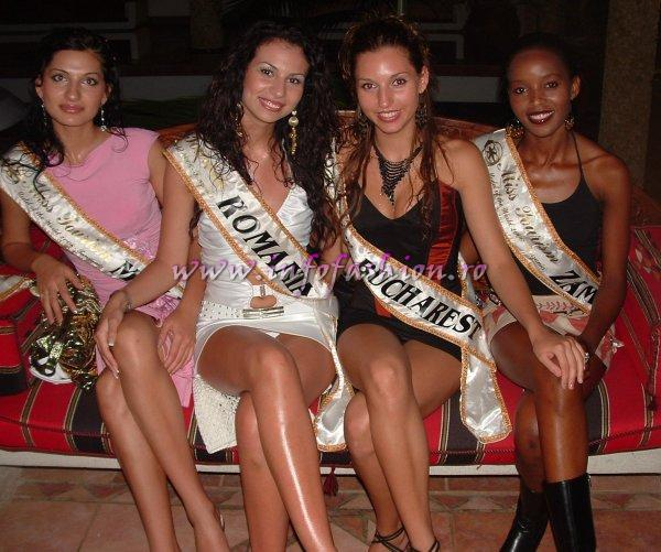 2006 Romanian Contestants at Model of the World in Tanzania