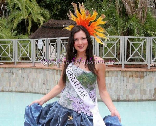 Gibraltar_2005 at Miss Tourism World in Zimbabwe, Harare