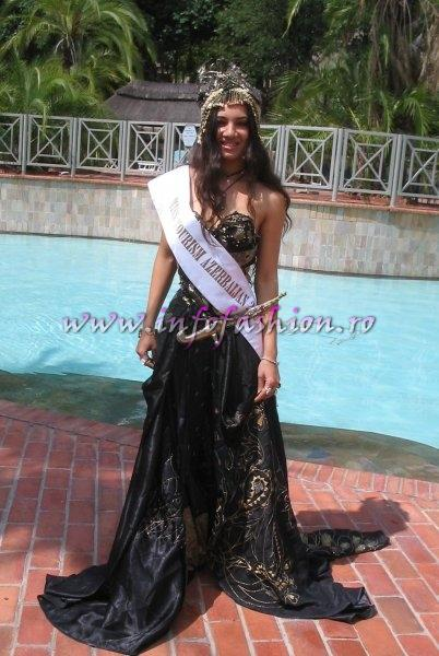 Azerbaidjan at International Final Miss Tourism World-2005 in Zimbabwe (Photo: Frank Thompson)