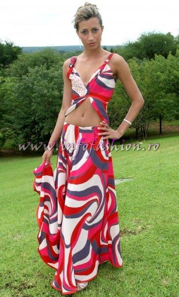 Brazil (Gerais) at Miss Tourism World 2005 Zimbabwe (Photo:Frank Thompson)