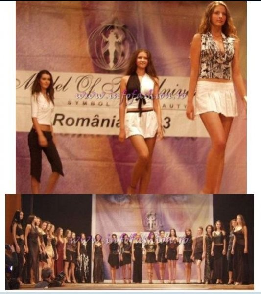 2003-Model of the Universe Romania (Busteni), 1 day before Miss Tourism Europe