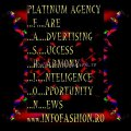 2015- 2002 Platinum Ag Infofashion Evenimente organizate Concursuri Internationale Miss, Modeling
