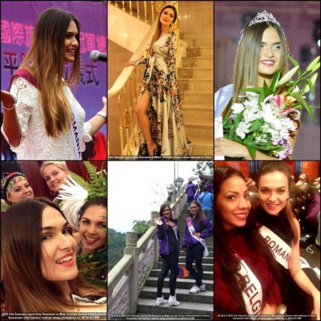 Netherlands -Nathalie Mogbelzada Winner of Miss Tourism Queen International 2015 /Elisa Savoaia for Romanian InfoFashion Festival®